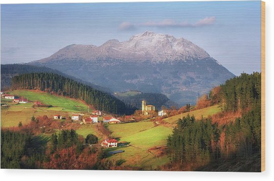 Our Little Switzerland Wood Print