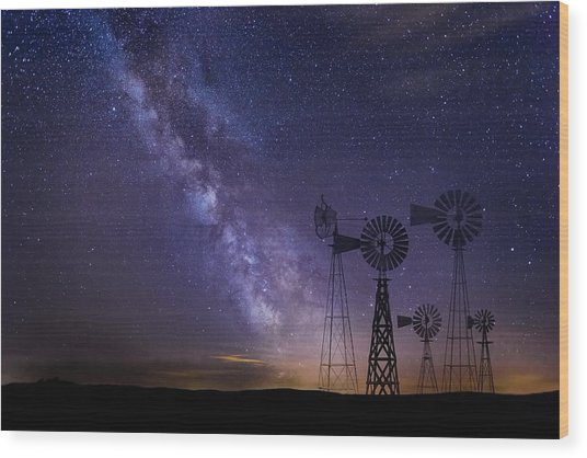 Our Milky Way  Wood Print
