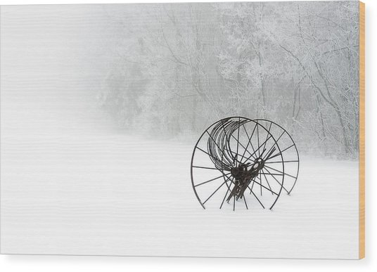 Out Of The Mist A Forgotten Era 2014 II Wood Print