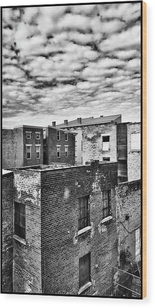 Wood Print featuring the photograph Over The Rhine by Al Harden
