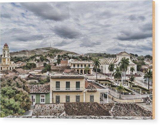 Overlook Trinidad Wood Print