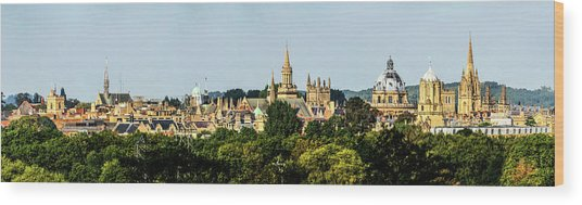 Oxford Spires Wood Print