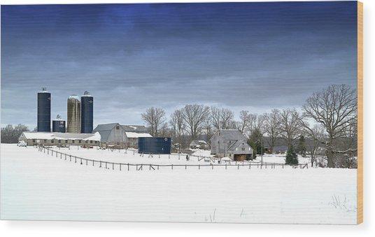 Pa Farm Wood Print