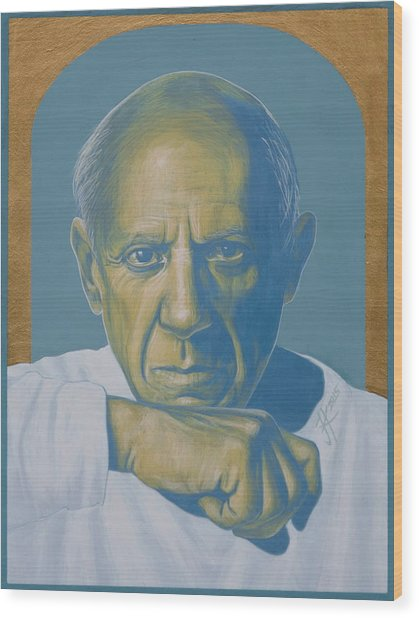Pablo Picasso Wood Print
