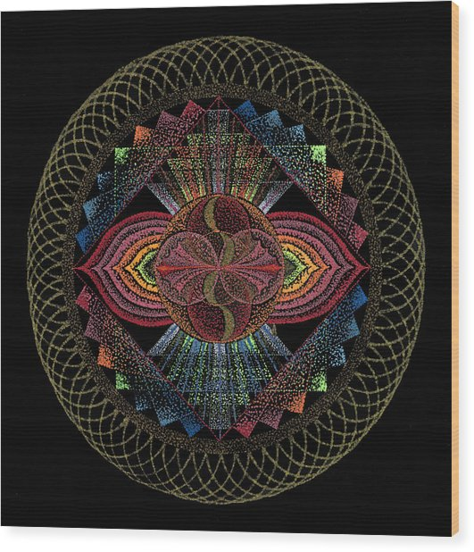 Pachamama Wood Print