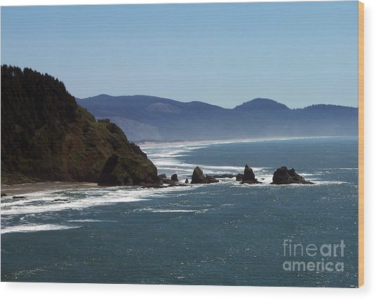 Pacific Ocean View 2 Wood Print