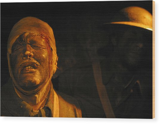 Pain You Could Not Understand Wood Print by Jez C Self