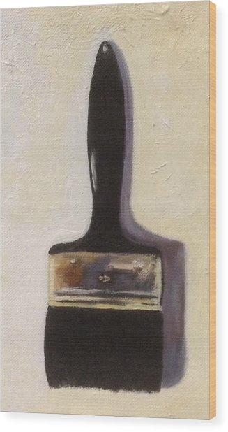 Paintbrush Wood Print
