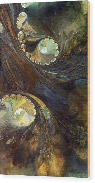 Painters Lament Wood Print by Kim Baker