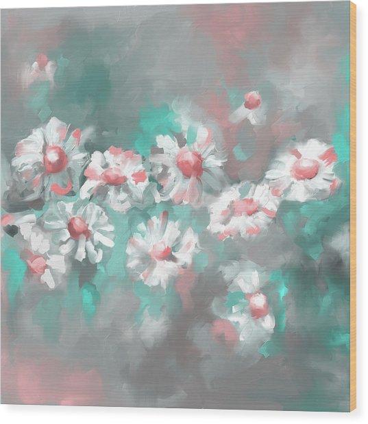Painting 638 3 Texas Wildflowers 1 Wood Print