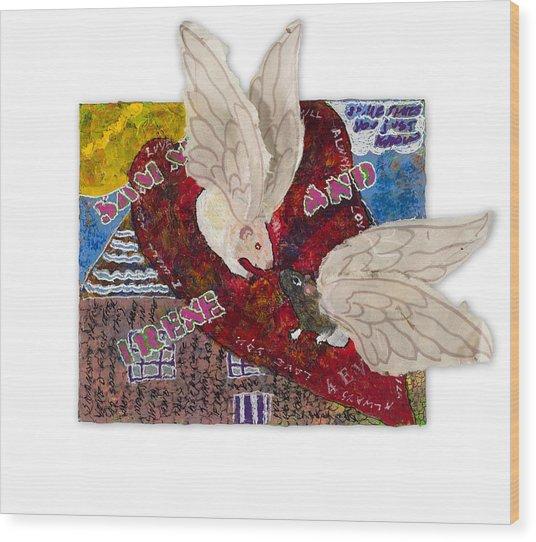 Pairs - Sammy And Irene Wood Print