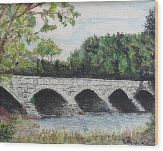 Pakenham Bridge Wood Print