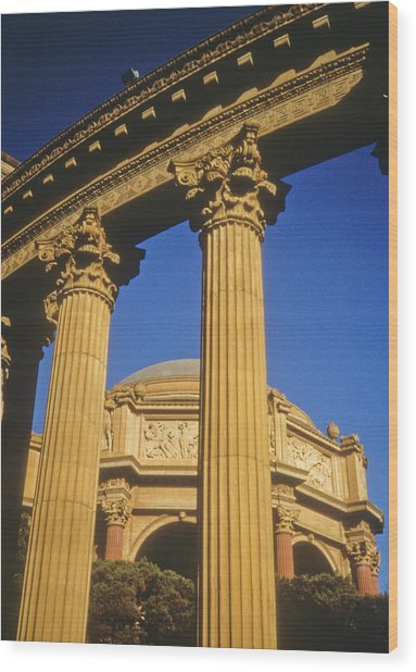 Palace Of Fine Arts, San Francisco Wood Print
