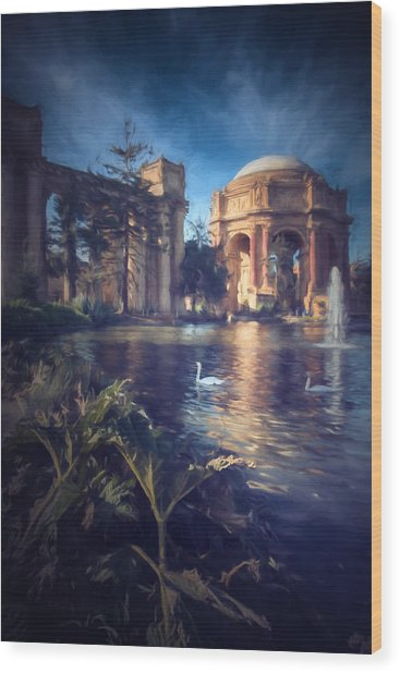 Palace Of Fine Arts Wood Print