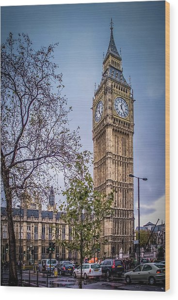 Palace Of Westminster London Wood Print