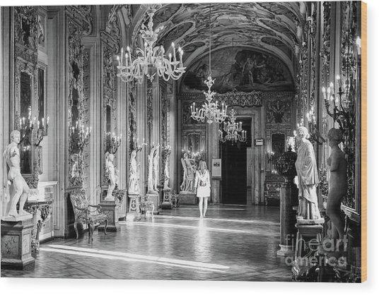 Palazzo Doria Pamphilj, Rome Italy Wood Print