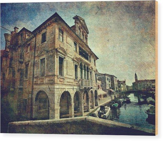 Palazzo Lisatti - Mascheroni Wood Print