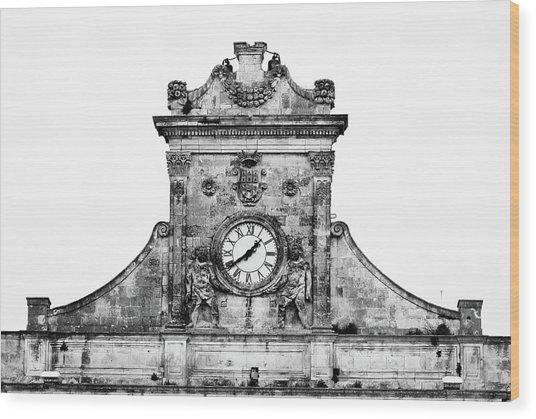 Palazzo Municipale Wood Print