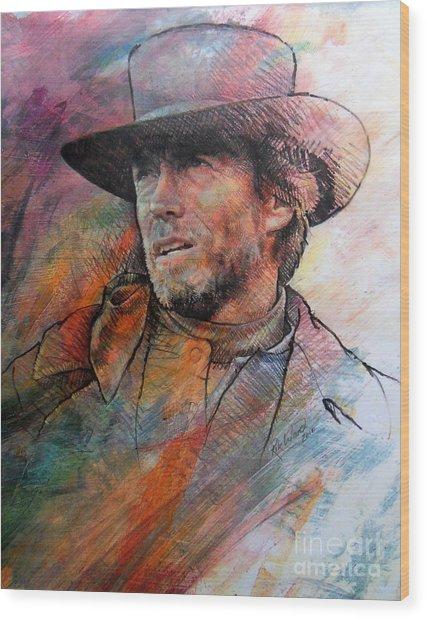Pale Rider Wood Print by Rik Ward