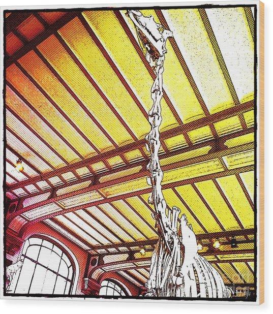 Paleo Neck Wood Print