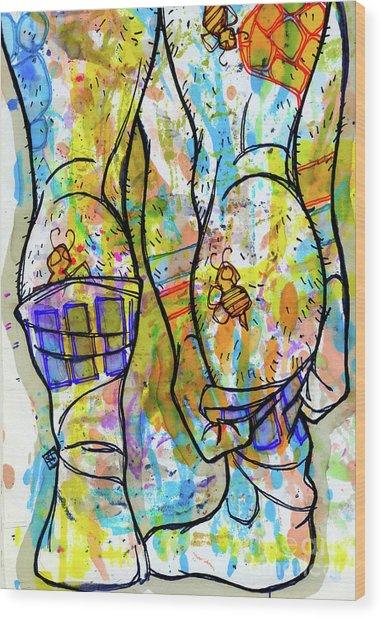 Palette Lad 11 Wood Print