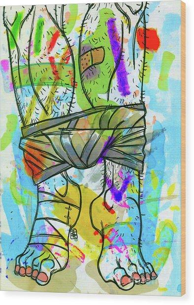 Palette Lad 2 Wood Print