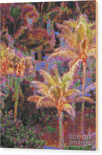 Palm 1008 Wood Print