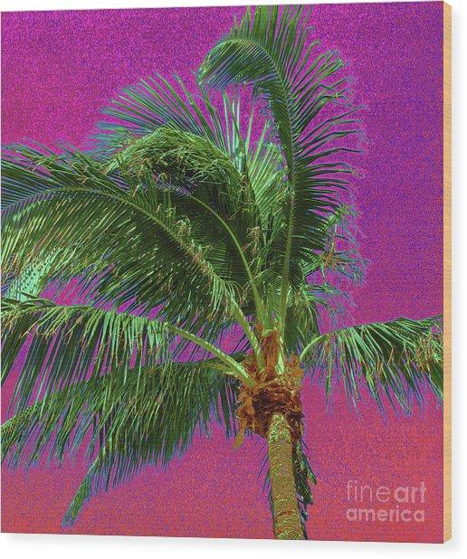 Palm 1012 Wood Print