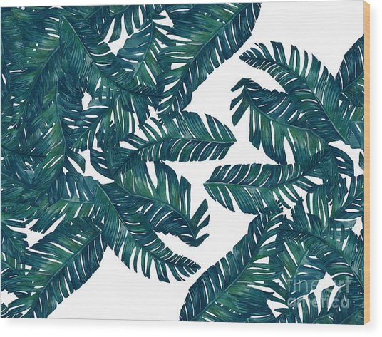 Palm Tree 7 Wood Print