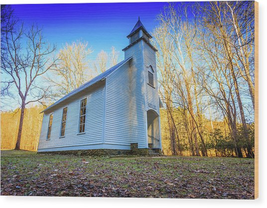 Palmer Chapel Methodist Church Wood Print