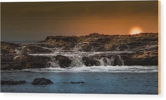 Palos Verdes Coast Wood Print