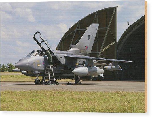 Panavia Tornado Gr4 Wood Print