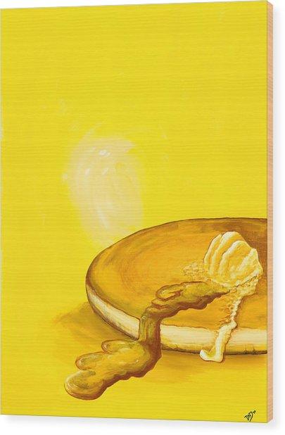 Pancake Wood Print
