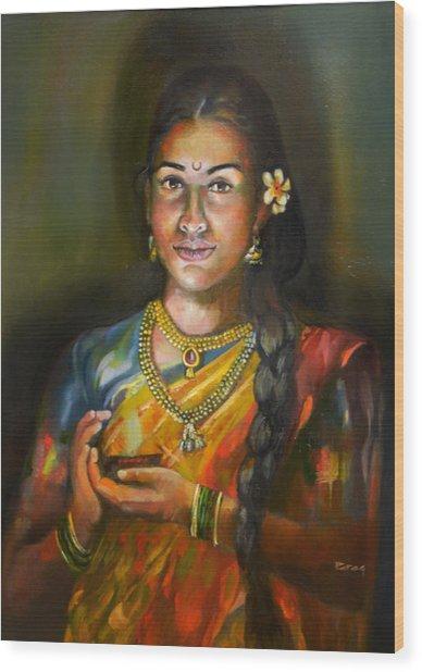 Panchali Wood Print