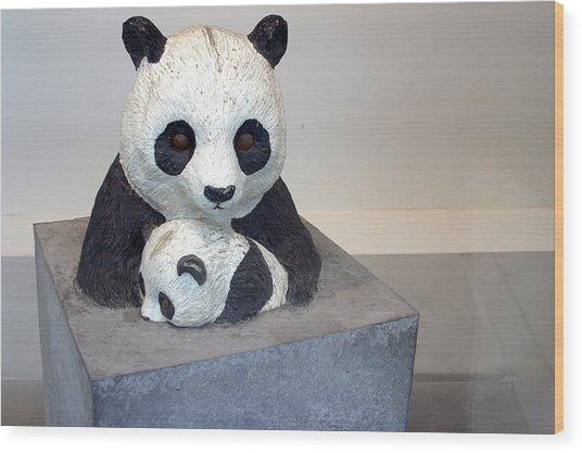 Pandaroras Box Wood Print by Jez C Self