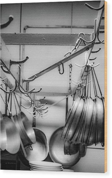 Panhandler Wood Print