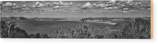 Panorama-cabo Frio-rj-2 Wood Print