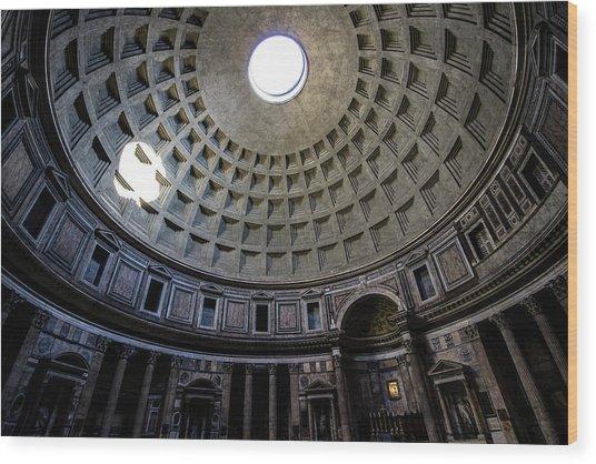 Pantheon Wood Print