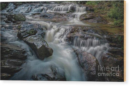 Panther Creek Upper Falls Wood Print