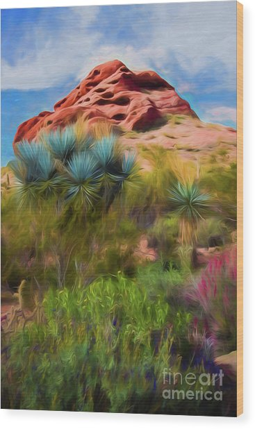 Papago Dreams Wood Print