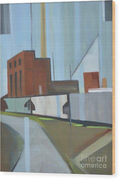 Paperboard Factory Bogota Nj Wood Print