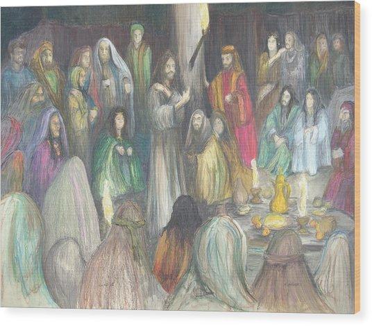 Parables Wood Print