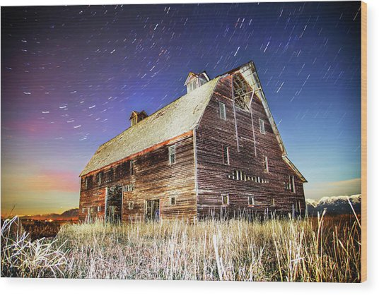Parade Of Stars Wood Print by Bryan Moore