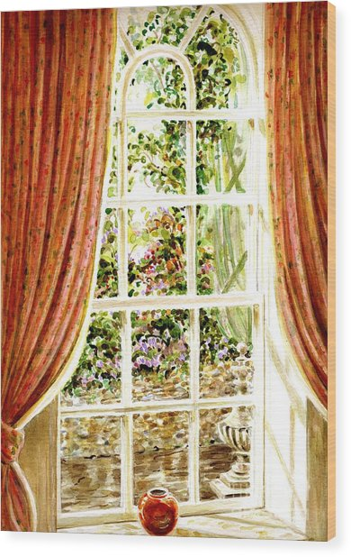 Paradise House In Bath England Wood Print