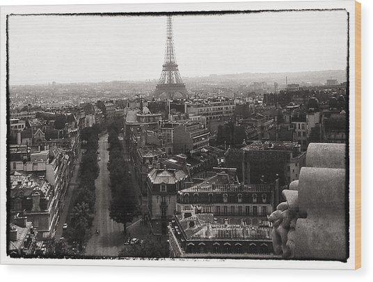 Paris 1966 Wood Print