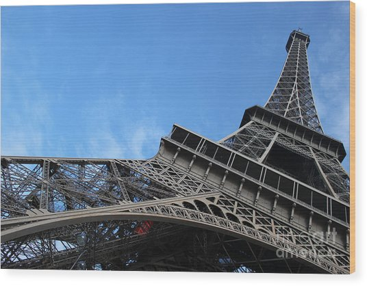 Paris Eiffel Tower Wood Print