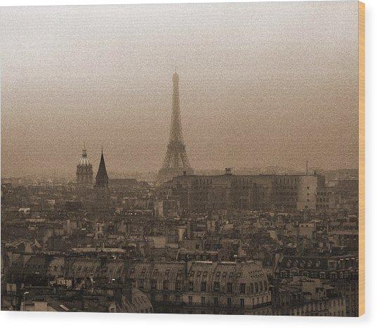 Paris Of Yesteryear IIi Wood Print