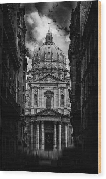 Paris Or Roma ? Wood Print by Klefer