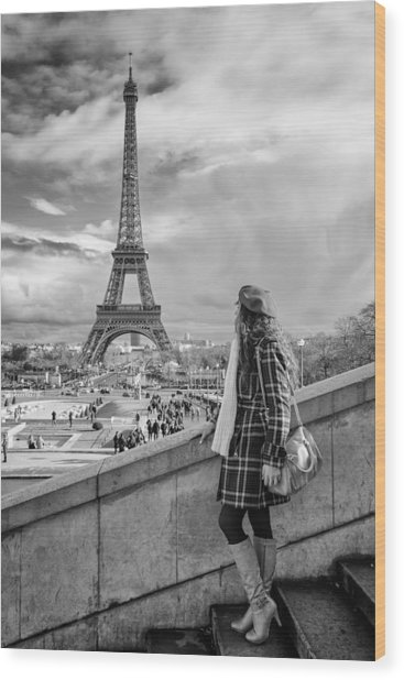 Parisien 2 Wood Print