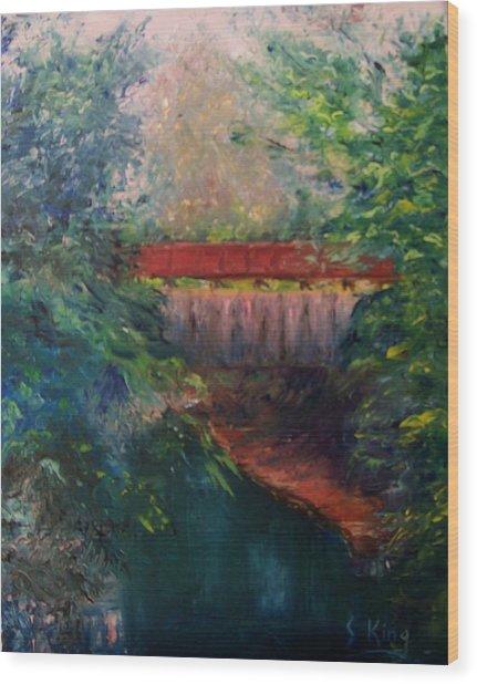 Parke County Wood Print